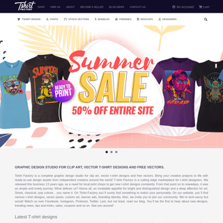 Graphic design studio for clip art , vector t-shirt designs and free vectors