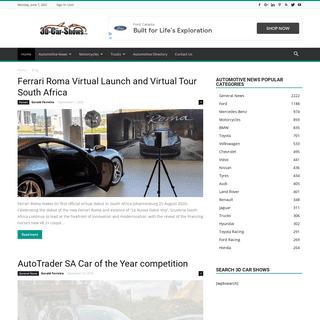 3D Car Shows - Automotive News