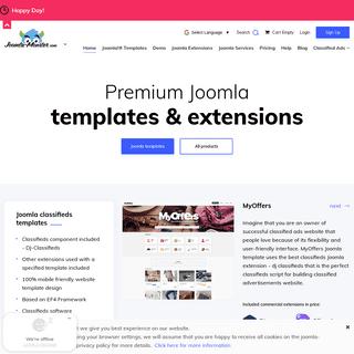 Joomla Templates and Joomla Extensions - Joomla-Monster