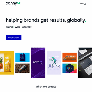Canny - Branding, Web Design, Content Agency Newcastle