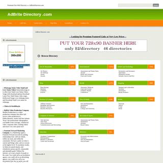 AdBrite Directory .com