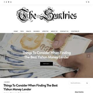 Suntrics - Latest Business, Health, Tech & Lifestyle Blog