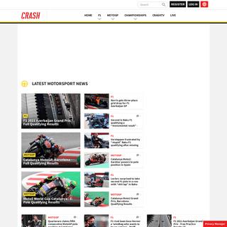 Crash.Net - F1 & MotoGP - Motorsport News