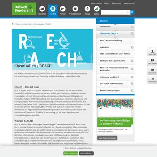 REACH- Chemikalien - Reach - Umweltbundesamt