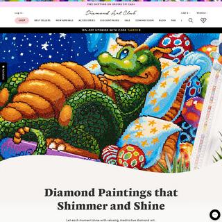 Diamond Painting & Diamond Art - Official Diamond Art Club®