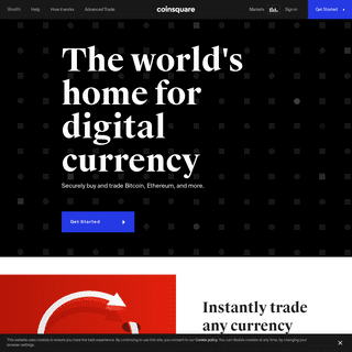 Coinsquare - Buy Bitcoin, Ethereum and Litecoin in Canada
