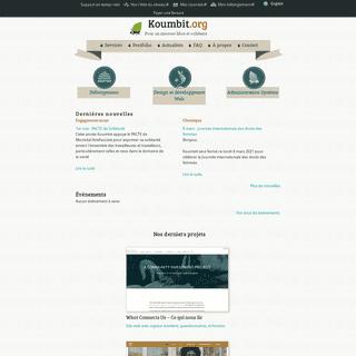 Koumbit.org - Pour un internet libre et solidaire