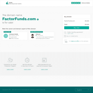 The domain name FactorFunds.com is for sale