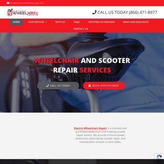Electric Wheelchair Repair & Maintenance