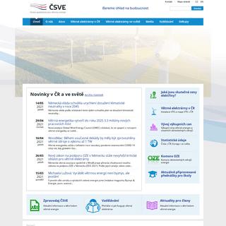 ČSVE - Větrné elektrárny - Větrná energie