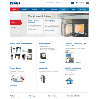 Temperature Controllers & Process Controllers - West CS