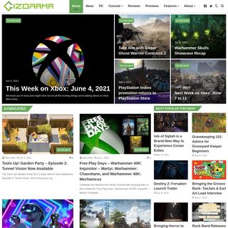 GIZORAMA - Gizmos, Games, News & Reviews
