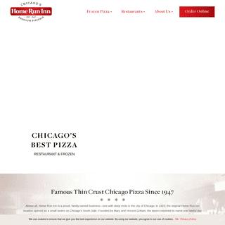 Chicago Pizza - Frozen Pizza - Home Run Inn Pizza