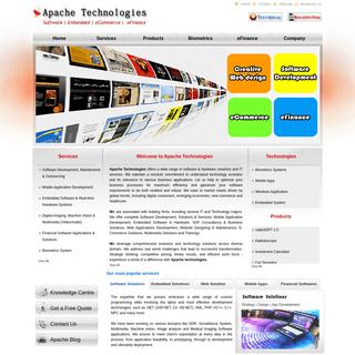 Apache Technologies - Software - Embedded - Biometrics - eFinance