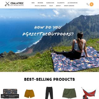 Coalatree Eco-Minded Goods - Outdoor Apparel & Accessories