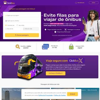 Passagem de Ônibus - ClickBus