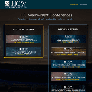 HCW Events