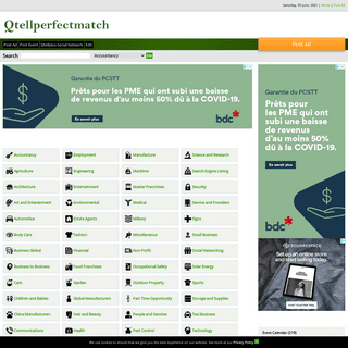 Qtellperfectmatch Post Global Ads, Matched Classifieds. Find the Perfect Ads with Free Post Classified