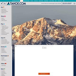 Lake Tahoe - Tahoe.com