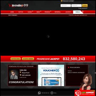 NDOMINO99 - Situs Agen Ceme Online Terpercaya