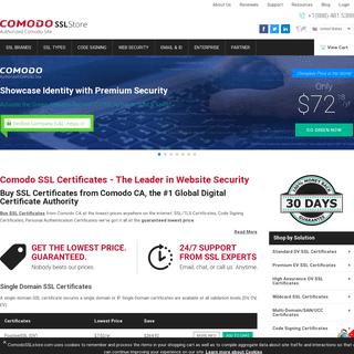 Comodo SSL Certificate- Buy DV, EV & Wildcard SSL at low price