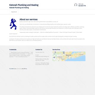 Katonah Plumbing and Heating – Katonah Plumbing and Heating