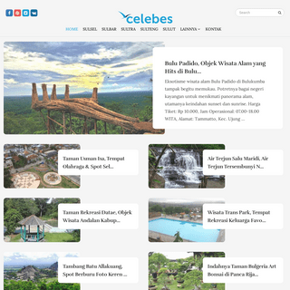Celebes - 1001 Tempat Wisata Populer di Pulau Sulawesi