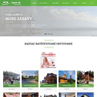 Liptov - ubytovanie, dovolenka, rekreácia, turistika, atrakcie, podujatia, história, Slovensko - Liptov