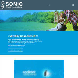 Hearing Aids by Sonic Innovations - Everyday Sounds Better