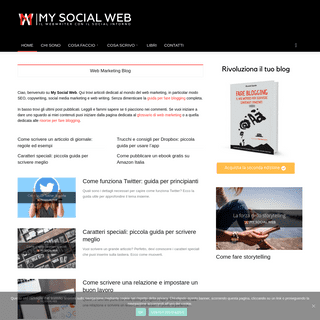 Web Writer e Social Media Marketing Blog - My Social Web