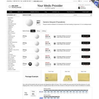 Order Desyrel Online Pharmacy Lowest Prices