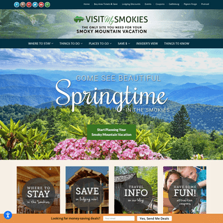 Smoky Mountain Vacation Planning for Gatlinburg, Pigeon Forge, and Sevierville TN