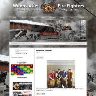 Woonsocket Firefighters, IAFF Local 732 - Woonsocket Firefighters
