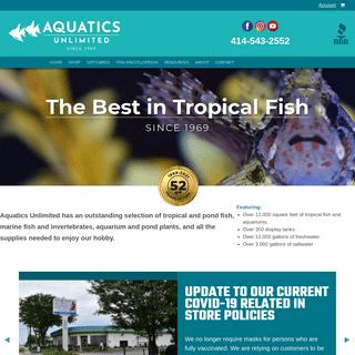 Home - Aquatics Unlimited