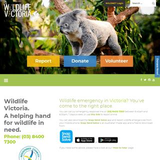 Wildlife Victoria - Australian Wildlife Emergency Response