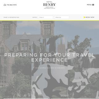 Hotel Henry Urban Resort Conference Center in Buffalo, NY