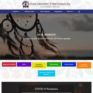 GLITC • Great Lakes Inter-Tribal Council Inc.