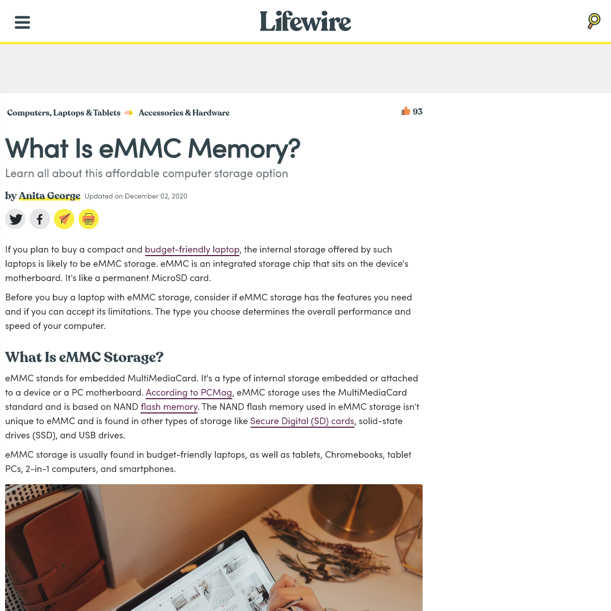 What Is eMMC Memory-