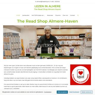 The Read Shop Almere-Haven - Lezen in Almere