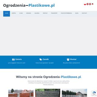 Ogrodzenia Plastikowe Producent z Poznania. Sztachety PCV