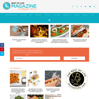The Best of Life® Magazine - Healthy Recipes, Low Carb Recipes, and At Home Workouts