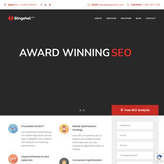 SEO Company - Slingshot SEO