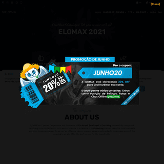 ELOMAX - ELO BOOST - PLACEMENT - DUO BOOST - COACHING - WIN BOOST