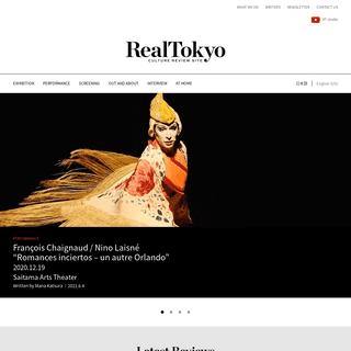 RealTokyo -CULTURE REVIEW SITE-