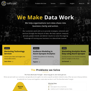 Softcrylic - We make data work - Data Consulting Firm