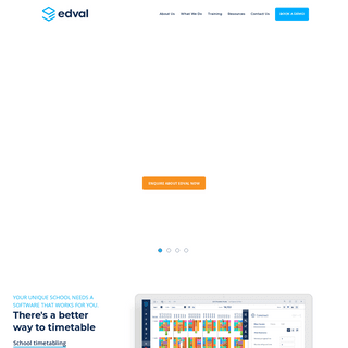 School Timetable Software Solutions - Edval