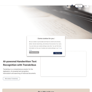 READ-COOP SCE - Revolutionizing access to handwritten documents