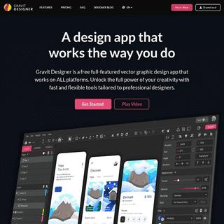 Online Vector Graphic Design App & Icon Image Editor - Gravit Designer