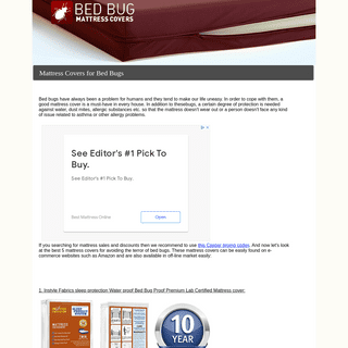 Mattress covers for bed bugs- how to find the best bed bug mattress cover in 2020 year