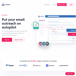 Sales Engagement & Automation Software - Mailshake